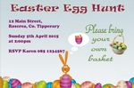 Personalised Easter Egg Hunt Invitations